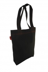 Trendy Unisex ToteBag trimmed with Red Threads, best for customization