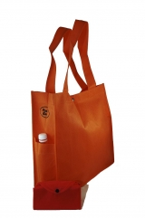 Exclusive & Unisex - Foldable into Pouch with 2 side pockets