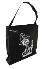 Screen Prints Limited Edition Sling Bag with full length zipper + pocket c/w base