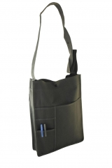 Unisex Sling Bag with front pockets for storage of gadget, mobile